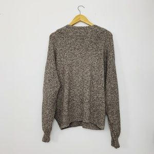 Urban Outfitters Sweaters - Urban Outfitters Tan Faux Wrap Sweater